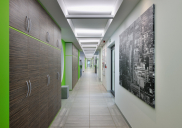 Celostna zasnova, interier in oprema pisarn CUBIS