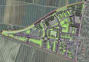 Raum- und Bebauungsplan Quotier für wohnen u. arbeiten ŽALEC
