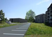 Municipal urban plan for a retail center in BISTRICA