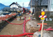 Infrastruktur und StraßenderOrtschaften Bitnje u. Žabnica KRANJ