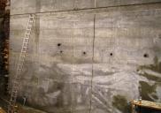 Oporni zid HOFER v Idriji
