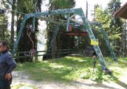 Four seat chairlift Vitranc 2 Ski Resort KRANJSKA GORA