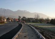 Sidewalks implementation for Milje and Visoko areas in ŠENČUR