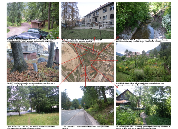Landscape expert groundwork for arrangement of park areas in JESENICE -