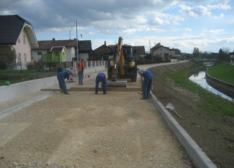 Implementation of communal infrastructure for the northern area of MENGEŠ -