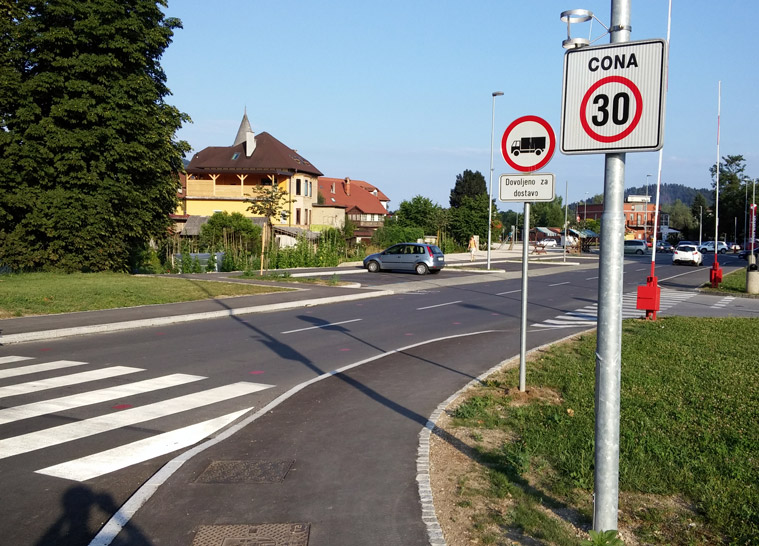 Reconstruction of the road section Medvoška cesta in MEDVODE -