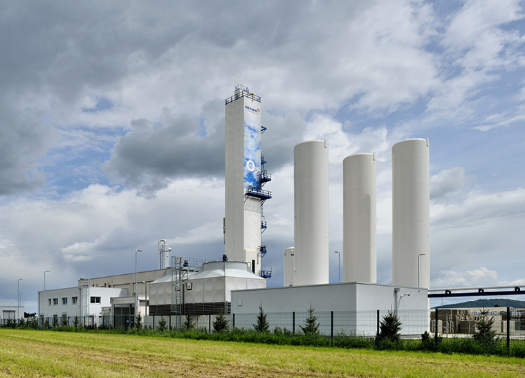 MESSER air separation unit in Škofja Loka -