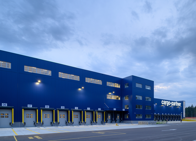 Logistikzentrum CARGO-PARTNER am Airport Ljubljana -