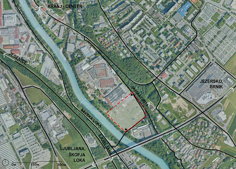 Municipal detailed spatial plan for the residential area Ob Savi in KRANJ -