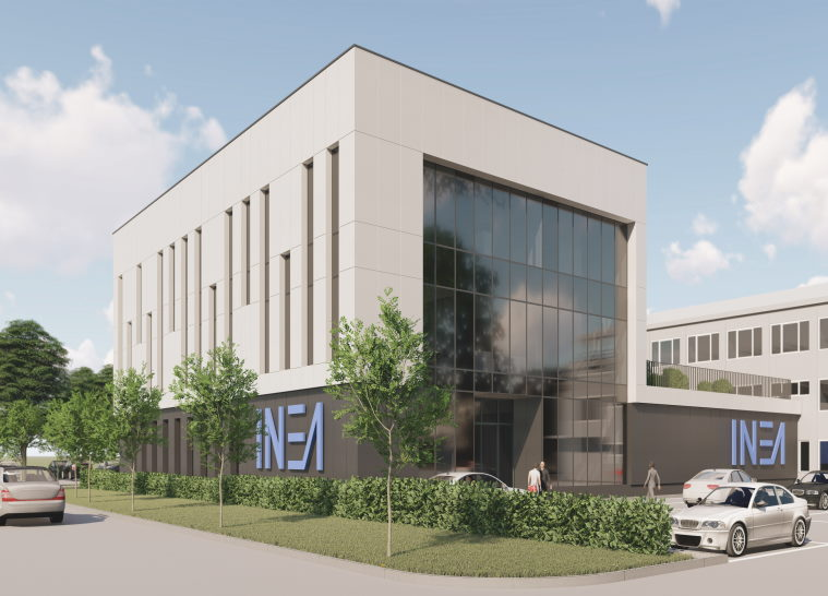 Manufacturing and administrative building INEA -