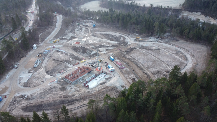 Communal infrastructure on River Camoing Bled area - March 2020
